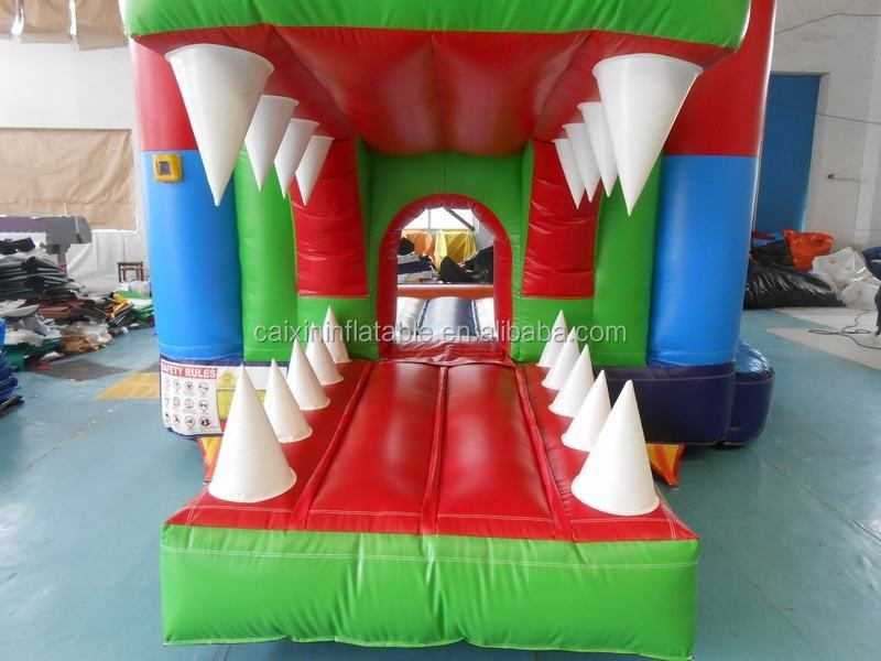 Cheap jurassic Wonderful mouth Inflatable Bouncer Jumper