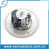 Yunsheng Spring Driven Musical Movement rotating music box bases