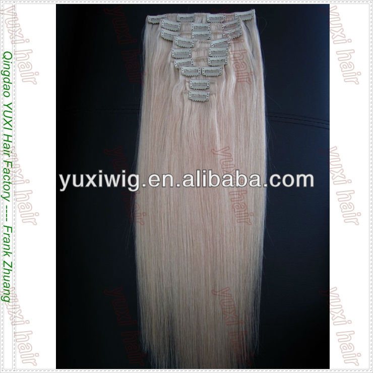luxury quality 30 inch hair extensions clip in