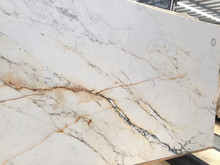 Hot sale italian calacatta gold marble white marble slabs