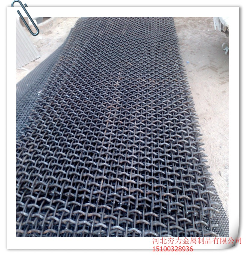HangLi 65Mn mining screen <strong>mesh</strong>,sand screen <strong>mesh</strong>,hook screen <strong>mesh</strong> for vibrating screen