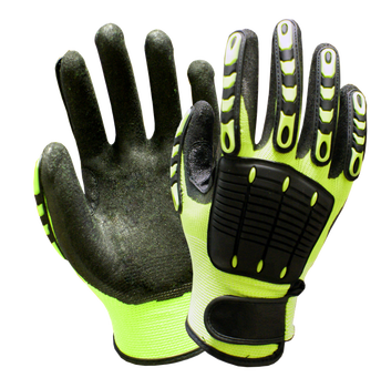 HTR High Impact Mechanic Working Protective Gloves