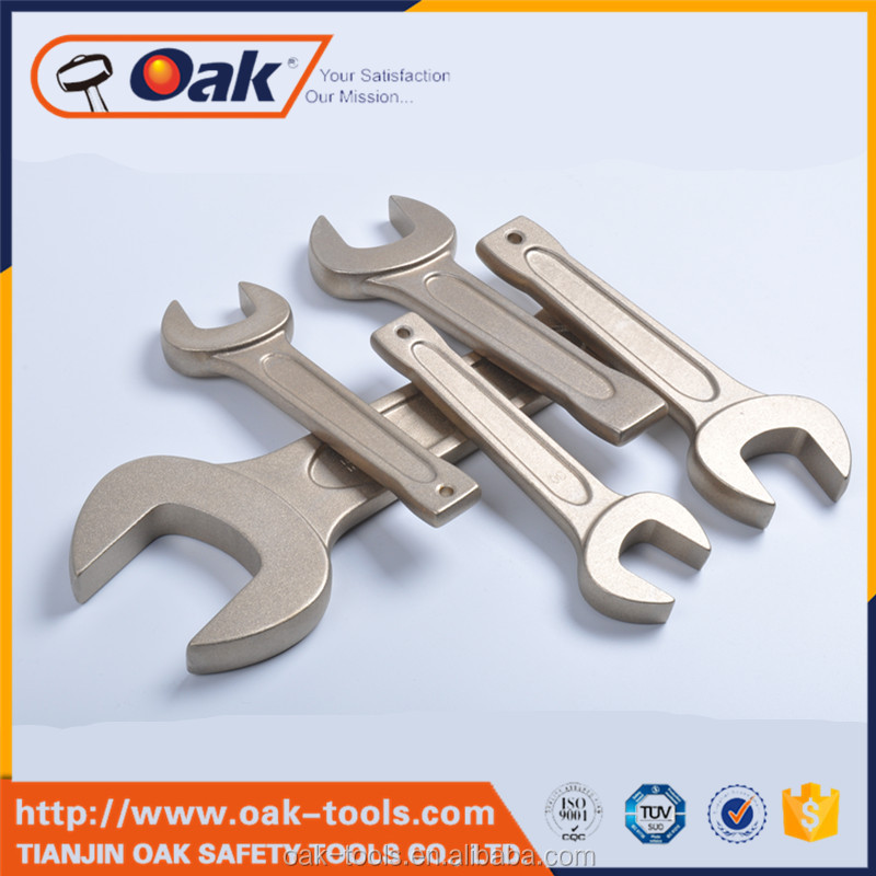 universal socket wrench half-moon ring spanner} open wrench with great price