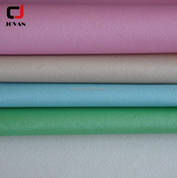 Knitted Backing Artificial PVC Synthetic Leather