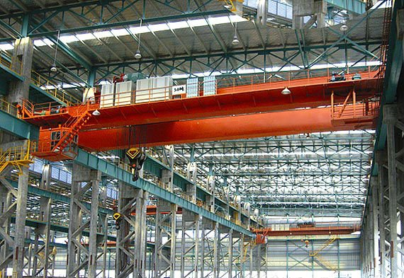 truss type double girder railway bridge crane professional factory