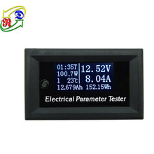 RD 33V10A 7in1 OLED display Temperature Capacity Ammeter Electricity Meter DC Voltmeter White Digital Voltmeter Multimeter