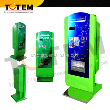 coin and bill exchange machine