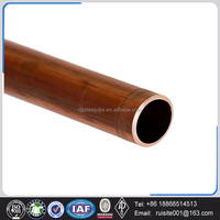 straight type L K M 1/2 inch large diameter copper tube