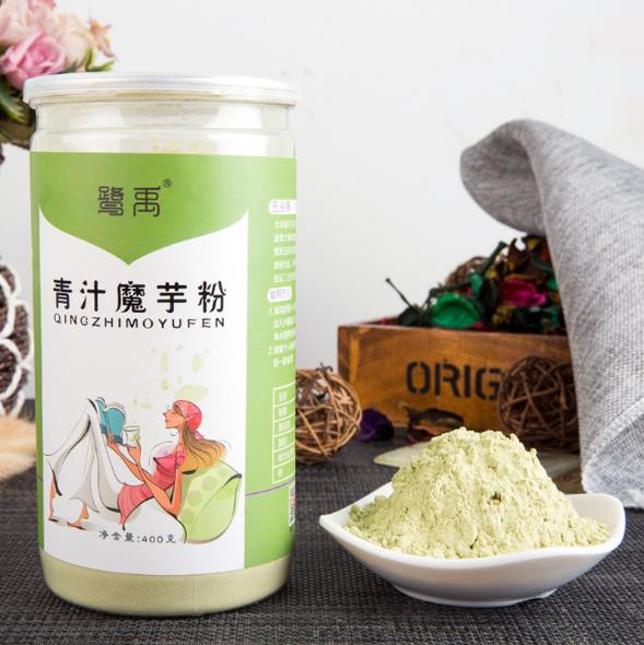 Green juice barley leaf konjac <strong>rice</strong> mixed food meal powder grain rushing food and beverage