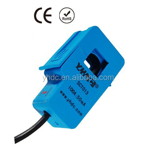 YHDC AC current clamp SCT-013-030 30A:1V split core current transformer