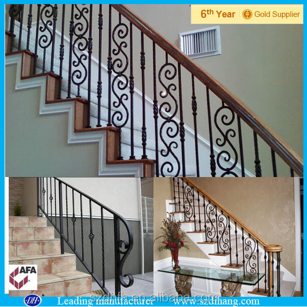 used wrought iron railing,wrought iron railing parts