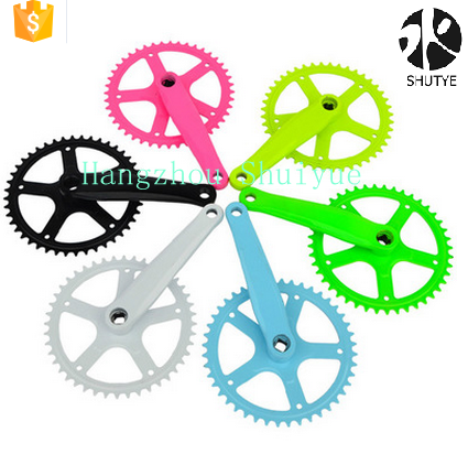 Bike/bicycle Alloy Crankset 48T for MTB Road Bikes Bicycle Chainring Crank