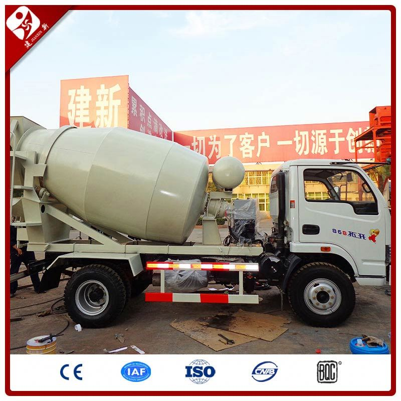 3 Cube To 10M3 Second Hand Self-Loading Concrete Mixer Vehicle