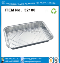 foil containers 1/2 Half-Size Deep Aluminum Foil Steam Pan with Lids Disposable Containers 200/PK