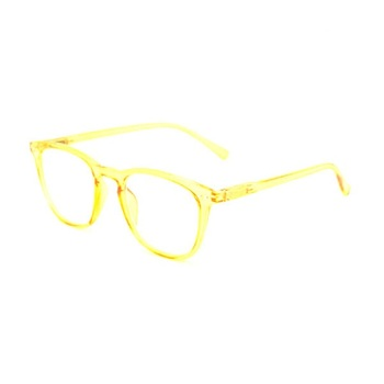 Yellow clear optical eye glasses Custom blue light blocking computer reading glasses