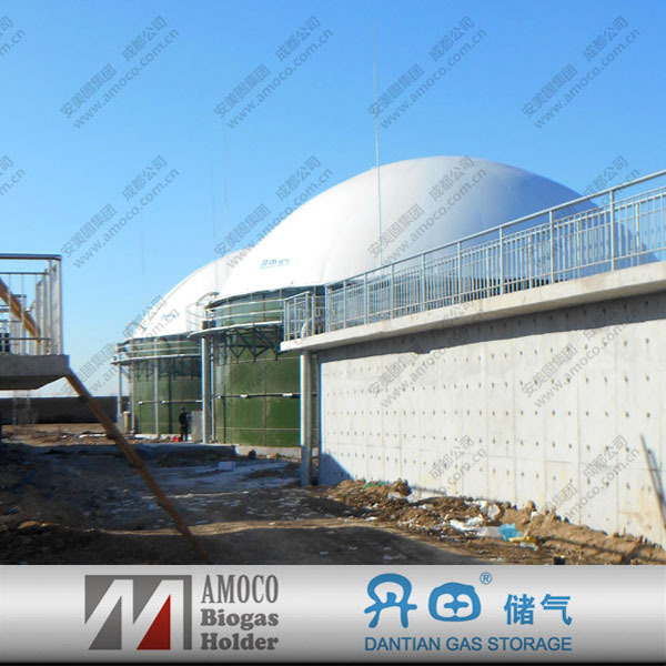 Portable bio digester for food waste treatment/waste water treatment