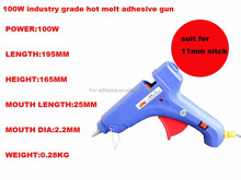 hot melt adhesive gluing machine and hot melt adhesive gun