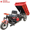 Hot Sale Factory Supply Small Three Wheel Electric Tricycle Tipper Mini Dump Truck Car Cargo Dumper For Sale