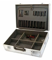 ALUMINIUM FLIGHT CASE TOOL BOX TOOLBOX TOOL CASE TOOLCASE