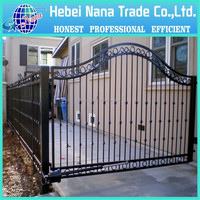 road security gates metal expanding security gate single pole security gate