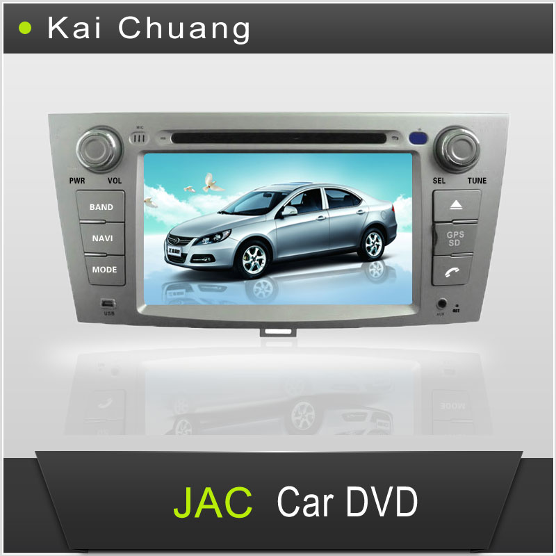 7inch Touch Screen Dashboard JAC HEYUE SEDAN/JAC J6 Car DVD GPS Player with Bluetooth Radio USB AUX-In SWC