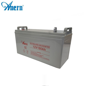 Free Maintenance agm battery 12v 100ah