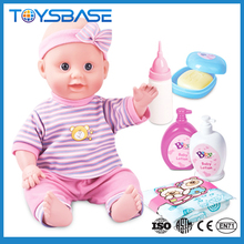 Lovely 14 inch baby born doll realistic silicone newborn baby doll