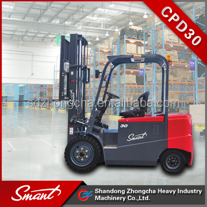 CPD30 3 ton solid tire electric forklift price for sale