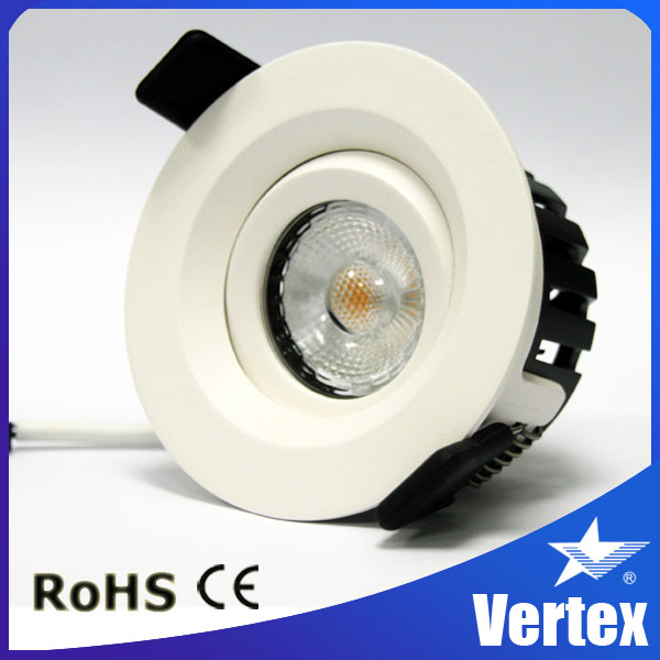 360 degree Adjustable angle 8w led ceiling recessed light replace led light bulb