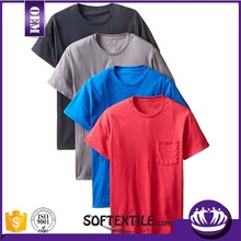 Soft Material 100% Cotton 180gsm Plain Custom DIY T-Shirt Free Sample And Quick Delivery