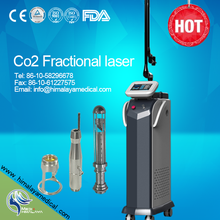 10600nm rf metal tube CO2 fractional laser wrinkle removal stretch mark useful