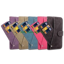 Luxury Retro Matte Rotation Card Slot Stand Flip Wallet Pu Leather Case For Samsung Galaxy Note8