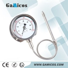 GPT350 Stainless steel High Temperature Pressure Gauge
