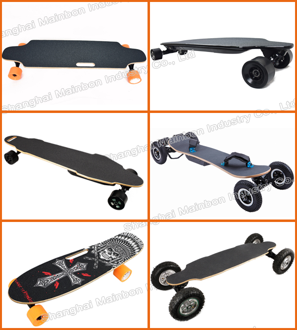 Newest style boosted electric skateboard