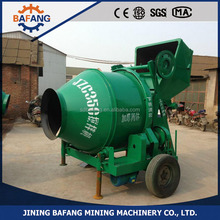 cheap price 5.5 kw Mobile hydraulic pump cement concrete Mixer for sale