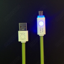 Promotional LED Light usb data cable for nokia ca-50 n70 6030