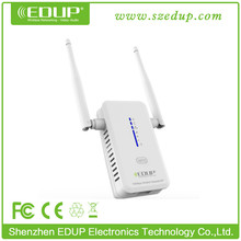 EDUP 802.11ac 5Ghz 750Mbps Dual Band Long Range 220V with Two Antenna Wifi Repeater