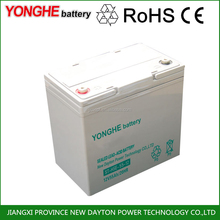 dry charged battery for ups 12v 7ah less than 2%/month self-discharge rate