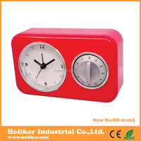 Plastic timer clock with customer logo printing