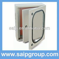 wall mounting enclosure telephone distribution box with inner door IP65
