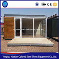 New design different container wooden house,modular house
