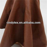 0.7mm brown drapery soft 100% viscose pu faux garment leather