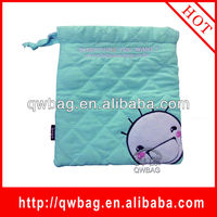 2014 new design lovely cotton drawstring gift bag
