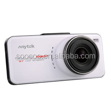 Anytek Thailand car black box 1080p car camcorder dash cam