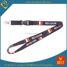 2015 new design sublimation full colors printed lanyard