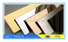 Mirror Polished Stainless Steel AISI 304 316 430 201 Stanless Steel Plate 8K for Elevator Decoration