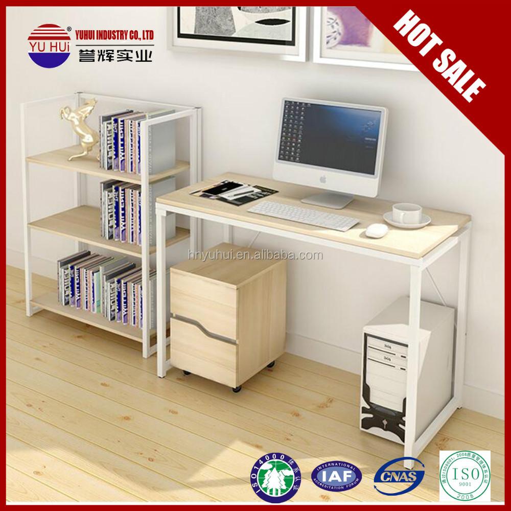Pieghevole scrivania del computer legno angolo scrivania for Piccole scrivanie