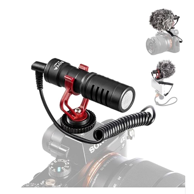 BY-MM1 Vidéo Léger Micro Compact Caméra Microphone D'enregistrement Pour Zhiyun Smooth 4 DJI OSMO - ANKUX Tech Co., Ltd