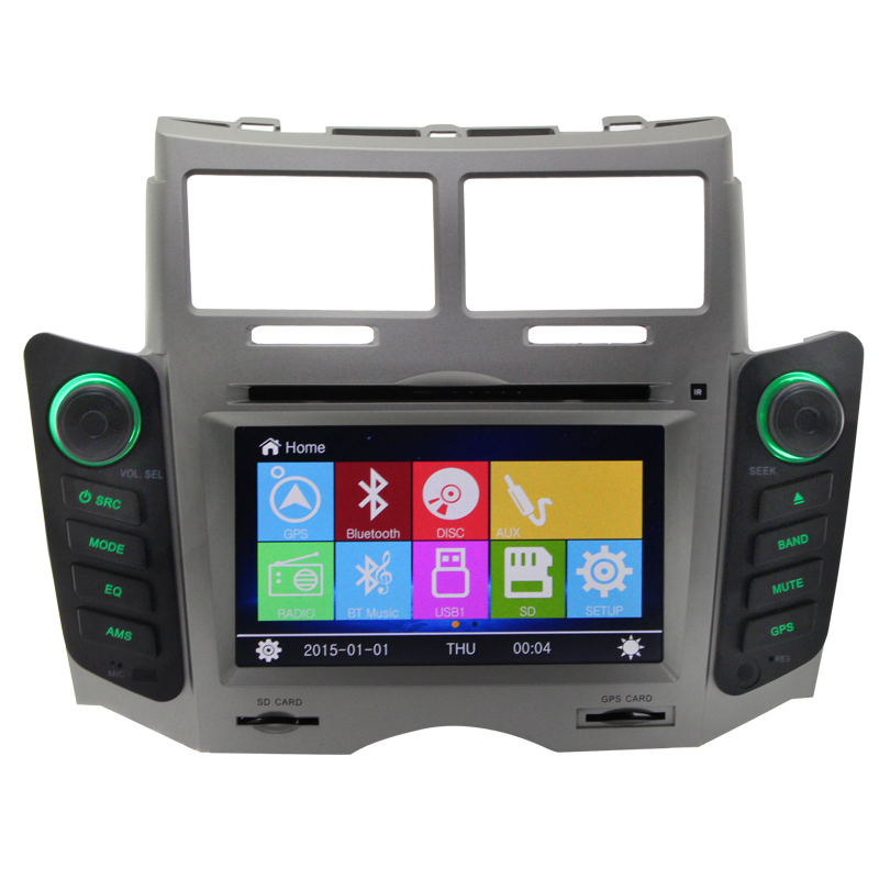 wince 6.0 car radio gps for toyota yaris car dvd player gps navigationmultimedia bluetooth playstore