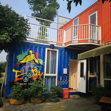 Factory supply flatpack prefabricated container villa price